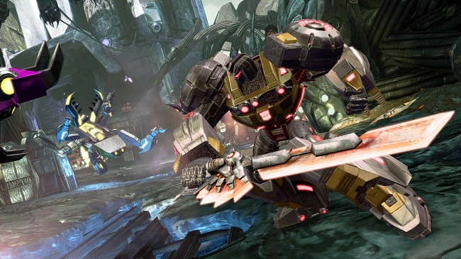 بازی transformers fall for cybertron اورجینال